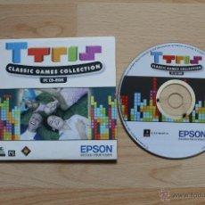 Videojuegos y Consolas: TTRIS JUEGO PC EDICIÓN ESPAÑOLA ESTUCHE CARTÓN TETRIS. Lote 41304930