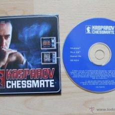 Videojuegos y Consolas: KASPAROV CHESSMATE JUEGO PC EDICIÓN ESPAÑOLA ESTUCHE CARTÓN. Lote 41305164