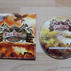 Videojuegos y Consolas: THE ENTENTE 1ª GUERRA MUNDIAL JUEGO PC EDICIÓN ESPAÑOLA ESTUCHE CARTÓN. Lote 41305231