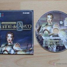 Videojuegos y Consolas: WARS & WARRIORA JUANA DE ARCO JUEGO PC EDICIÓN ESPAÑOLA EN ESTUCHE DE CARTÓN. Lote 41305476