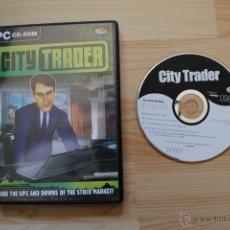 Videojuegos y Consolas: CITY TRADER JUEGO PC. Lote 41376671