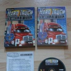 Videojuegos y Consolas: HARD TRUCK 18 WHEELS OF STEEL JUEGO PC EN ESTUCHE DE CARTÓN. Lote 174898453
