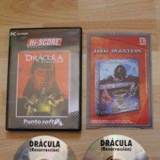 Videojuegos y Consolas: DRÁCULA RESURRECCIÓN JUEGO PC EDICIÓN ESPAÑOLA. Lote 41417379