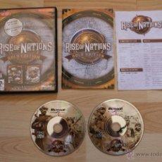 Videojuegos y Consolas: RISE OF NATIONS GOLD EDITION JUEGO PC EDICION ESPAÑOLA . Lote 41417515