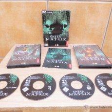 Videojuegos y Consolas: JUEGO ENTER THE MATRIX DE ATARI PARA PC.. Lote 41453933