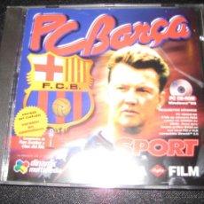 Videojuegos y Consolas: FC BARCELONA - SPORT - PC BARÇA , DINAMIC MULTIMEDIA - VAN GAAL. Lote 41460893