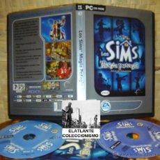 Videojuegos y Consolas: LOS SIMS - MAGIA POTAGIA (DISCO DE EXPANSIÓN) - EA GAMES - B. ESTADO - CON MANUAL Y DISCO EXTRA. Lote 41523516
