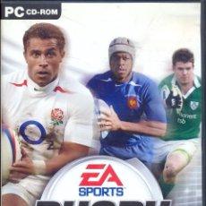 Videojuegos y Consolas: RUGBY 2005 - PC - EDICION ESPAÑOLA - EA SPORTS. Lote 41586507