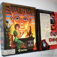 Videojuegos y Consolas: [CAJA] LAURA BOW IN THE DAGGER OF AMON RA [SIERRA ON-LINE] MCM SOFTWARE [1992][PC 3 1/2] R. WILLIAMS. Lote 41846215