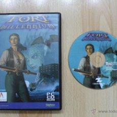 Videojuegos y Consolas: FORT MILLENNIUM JUEGO PC EDICIÓN ESPAÑOLA. Lote 41910549