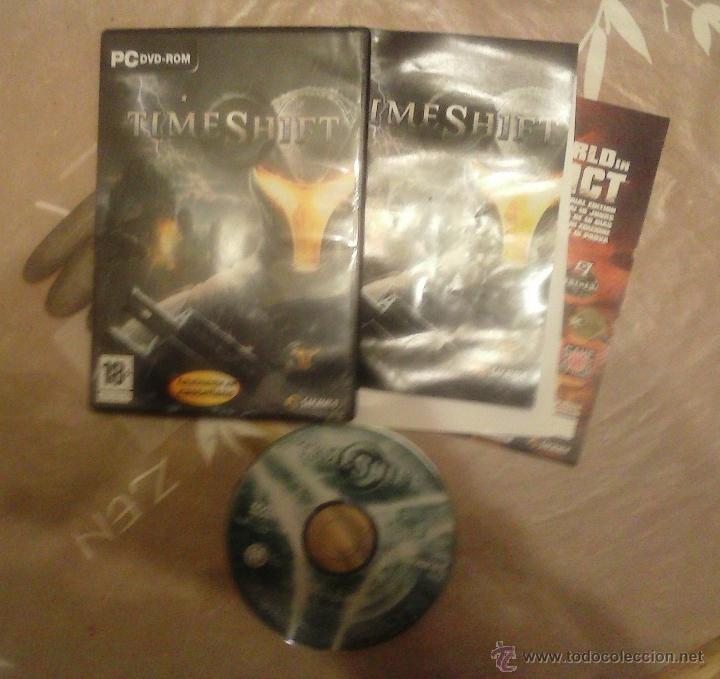 JUEGO P C TIMESHIFT (Juguetes - Videojuegos y Consolas - PC)