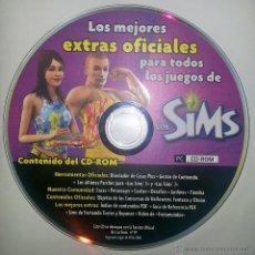 Videojuegos y Consolas: CD-ROM LOS MEJORES EXTRAS OFICIALES PARA TODOS LOS JUEGOS DE LOS SIMS. REVISTA OFICIAL 2005.. Lote 42413790