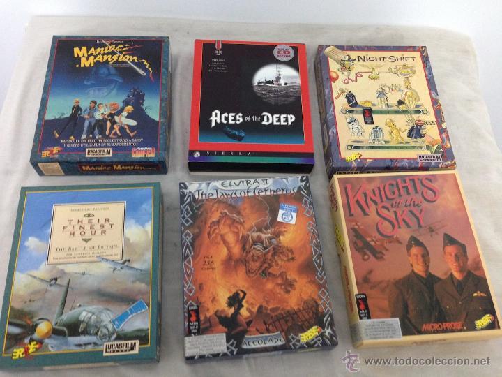 Juegos Antiguos De Pc Lucasfilm Erbe Etc Comprar Videojuegos Pc En