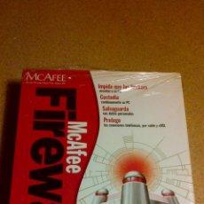 Videojuegos y Consolas: MCAFEE FIREWAL PROGRAMA APLICACION PC. Lote 42906710
