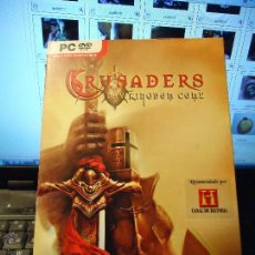 Videojuegos y Consolas: JUEGO DVD PARA PC ONLY DVD COMPATIBLE - CRUSADERS THY KINGDOM COME 12+ MAGNIFICO ESTADO EN SU CAJA. Lote 43143468