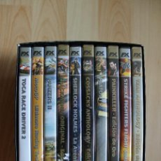 Videojuegos y Consolas: MVM LOS MEJORES VIDEOJUEGOS DEL MUNDO EDICIÓN ESPECIAL COLECCIONISTA ESPAÑOLA FX PC PACK LOTE. Lote 43221509