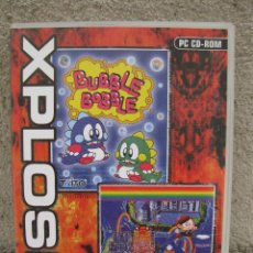 Jeux Vidéo et Consoles: BUBBLE BOBBLE + RAINBOW ISLANDS - XPLOSIV - JUEGO PARA PC.. Lote 43625759