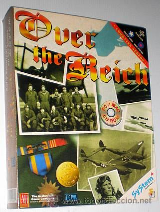 Over the Reich [Big Time Software] [1996] Avalon Hill [SyStem 4] [PC MAC CDROM] APPLE Macintosh, usado segunda mano