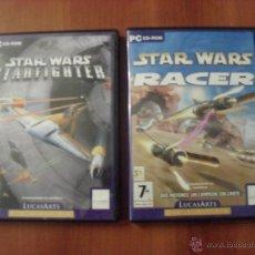 Videojuegos y Consolas - LOTE 2 JUEGOS STAR WARS, PC, LEER - 43669303