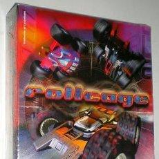Videojuegos y Consolas: ROLLCAGE [PSYGNOSIS] 1999 [ATD ATTENTION TO DETAIL] ERBE SOFTWARE [PC CDROM] IBM PC,FATBOY SLIM. Lote 43965138