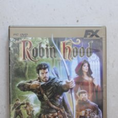Jeux Vidéo et Consoles: ROBIN HOOD - EDICIÓN DE ORO - PC. Lote 44007672