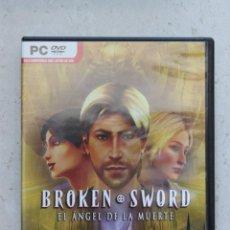 Videojuegos y Consolas: BROKEN SWORD - EL ÁNGEL DE LA MUERTE - PC. Lote 44024408