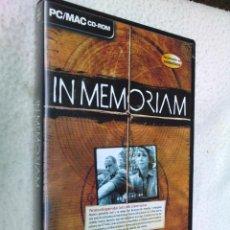 Videojuegos y Consolas: JUEGO PARA PC Y MAC IN MEMORIAM. AÑO 2003. Lote 44089655