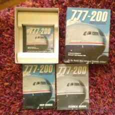 Videojuegos y Consolas: PC 777-200 PROFESSIONAL PARA FIGHT SIMULATOR 2000 CAJA CARTÓN. Lote 84150111