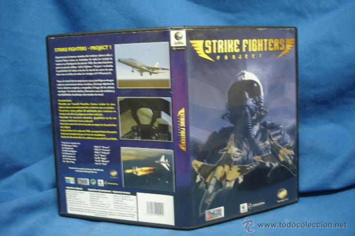 STRIKE FIGHTERS PROJECT 1 - JUEGO PC CD-ROM