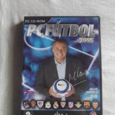 Videojuegos y Consolas: JUEGO PC CD ROM PC FUTBOL 2005. Lote 44429746