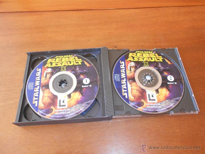 Videojuegos y Consolas: STAR WARS REBEL ASSAULT 1 Y 2 (OJO VER DESCRIPCIÓN) LUCAS ARTS - Foto 3 - 44671214