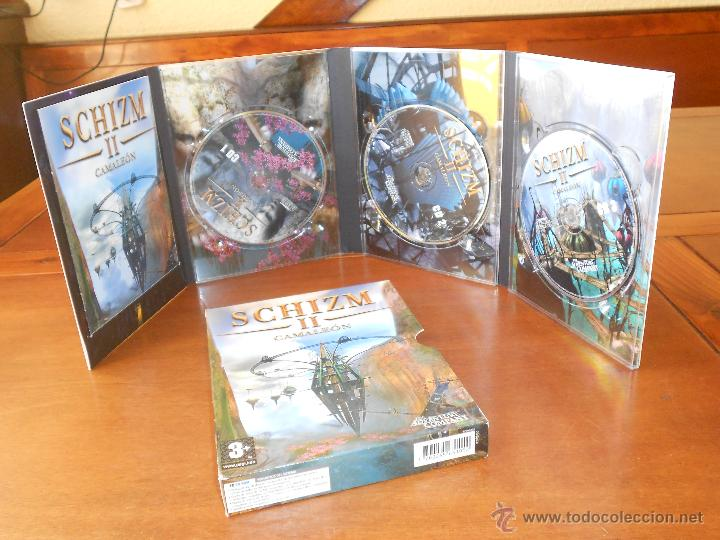 SCHIZM 2 CAMALEÓN, PC CD ROM, JUEGO PARA ORDENADOR THE ADVENTURE COMPANY (Juguetes - Videojuegos y Consolas - PC)
