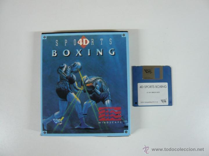 4D SPORTS BOXING / BOXEO / PC / DISKETTE 3.5 / RETRO / IBM (Juguetes - Videojuegos y Consolas - PC)
