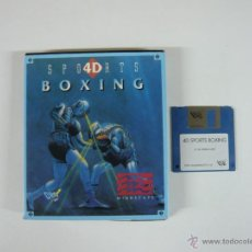 Videojuegos y Consolas: 4D SPORTS BOXING / BOXEO / PC / DISKETTE 3.5 / RETRO / IBM. Lote 44773012