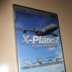 Videojuegos y Consolas: X-PLANE7 **FLIGHT SIMULATOR (EL SIMULADOR DE VUELO PROFESIONAL**JUEGO PC. Lote 44787481