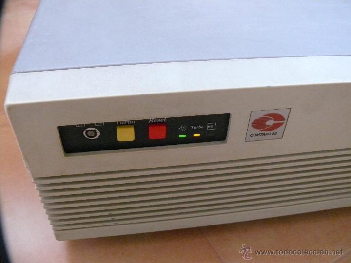 Videojuegos y Consolas: NUNCA VISTO ORDENADOR ANTIGUO COMTRAD 88 COMPATIBLE IBM Y AMSTRAD AÑOS 80 ESPAÑA - Foto 2 - 45003826