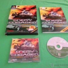 Videojuegos y Consolas: ENEMY ENGAGED - PC - DINAMIC MULTIMEDIA - CAJA GRANDE - INCLUYE MANUAL 156 PAGINAS. Lote 45119637