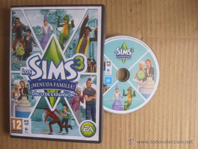 Juego Pc Dvd Mac Los Sims 3 Menuda Familia Comprar Videojuegos