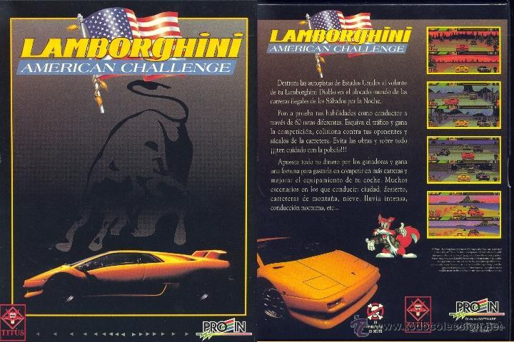 JUEGO PC 3,5 - LAMBORGHINI AMERICAN CHALLENGE (Juguetes - Videojuegos y Consolas - PC)