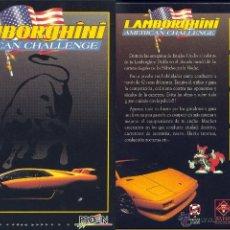 Videojuegos y Consolas: JUEGO PC 3,5 - LAMBORGHINI AMERICAN CHALLENGE. Lote 45474866