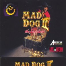 Videojuegos y Consolas: JUEGO PC CD-ROM - MAD DOG II THE LOST GOLD. Lote 45474939