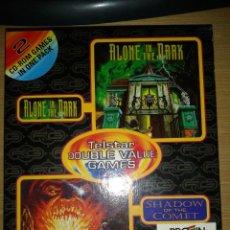 Videogiochi e Consoli: PACK ALONE IN THE DARK Y SHADOW OF THE COMET CD-ROM PC AÑO 1992. Lote 45505892