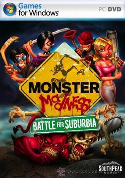 JUEGO P C MONSTER MADNESS BATTLE FOR SUBURBIA NUEVO (Juguetes - Videojuegos y Consolas - PC)