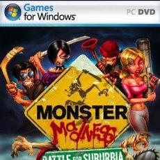 Videojuegos y Consolas: JUEGO P C MONSTER MADNESS BATTLE FOR SUBURBIA NUEVO. Lote 27300651