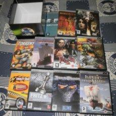 Videojuegos y Consolas: VIDEOJUEGOS PC. FX INTERACTIVE Y EL MUNDO. COLECCIÓN COMPLETA (10 JUEGOS + JUEGO EXTRA), 2004. Lote 45678383
