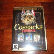 Videojuegos y Consolas: COSSACKS ANTOLOGIA. Lote 45745787