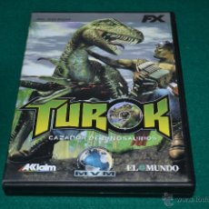Videojuegos y Consolas: JUEGO PC TUROK FX. Lote 45761947