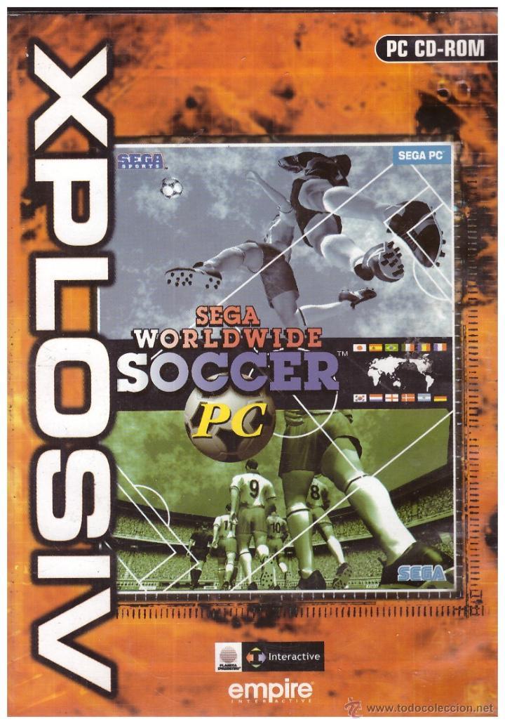 Juego En Cd Rom Para Pc Sega Worldwide Soccer Comprar Videojuegos
