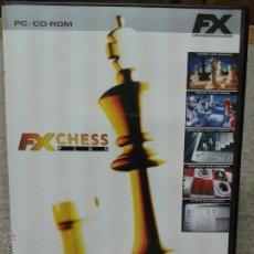 Videojuegos y Consolas: JUEGO PC CD ROM FX CHESS PLUS. Lote 45828651
