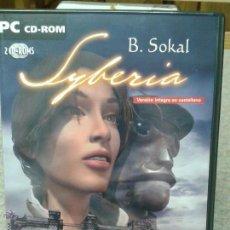 Videojuegos y Consolas: JUEGO PC CD ROM SYBERIA. Lote 45828679